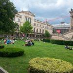 Blick auf das Neue Museum