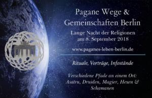 Pagane Wege u. Gemeinschaften bei der Langen Nacht